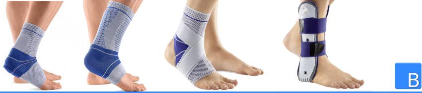 Fuß Tapen Bänderdehnung